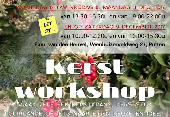 Kerst Workshops in Putten voor Duchenne