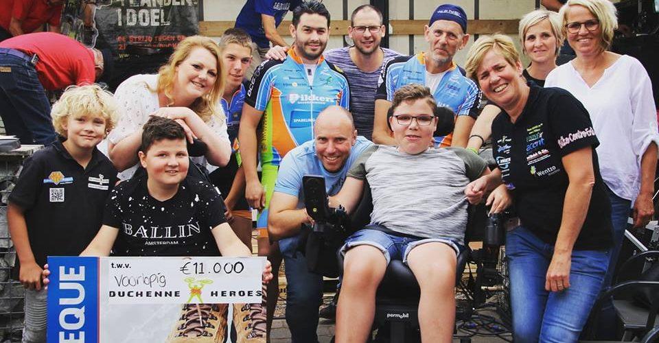 Wandelen voor Duchenne: € 11.000 and counting!